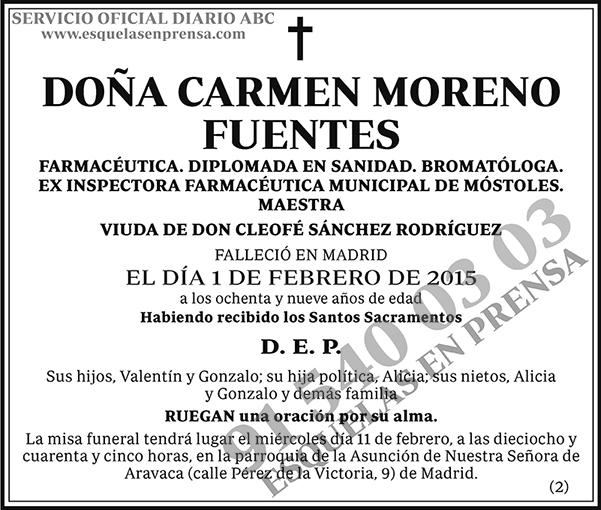 Carmen Moreno Fuentes